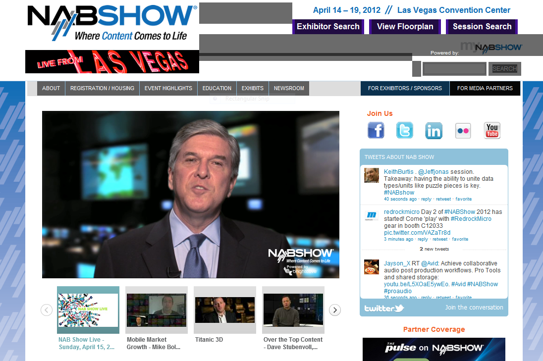 nabshow1 Tip Tuesday: Take a look at how organizations like yours are using online video. %page
