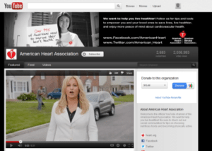 American Heart Association YouTube channel