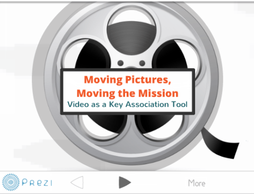 Association videos benefit from a collaborative process.