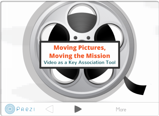 preziimage Association videos benefit from a collaborative process. %page