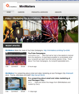 Screen Shot 2012 11 27 at 5.25.48 PM 254x300 LinkedIn Videos for LinkedIn Company and Nonprofit Pages %page
