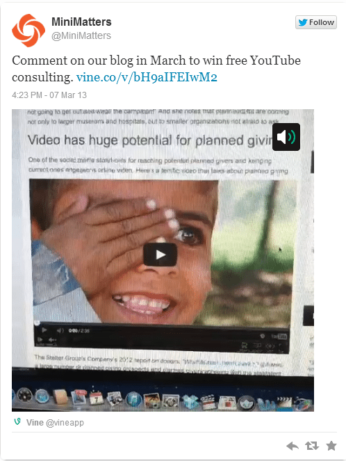 vinevideo Video on Twitter  Making it Work for Your Business or Organization %page