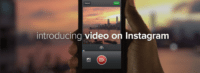InstagramVideo 200x73 Instagram Videos Have Enough Time for a Message %page