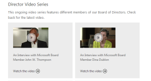 Microsoft video Great Nonprofits Should Showcase Board Members on Video %page
