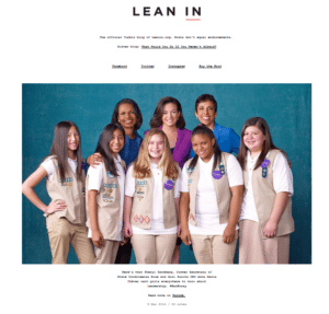 LeaninTumblr 300x287 Should Nonprofits Use Tumblr for Video Marketing? %page