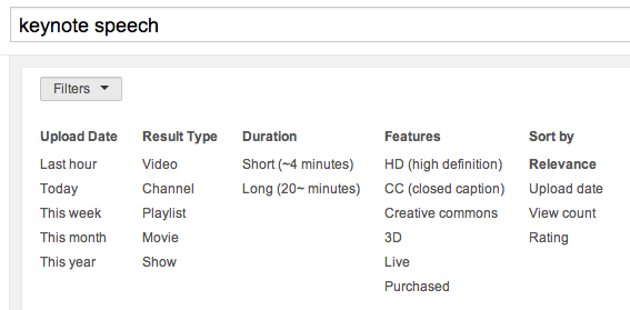 Youtube statistics and your best video length for different videos yt search filters ccuart