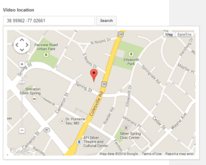 YouTubegeotagging