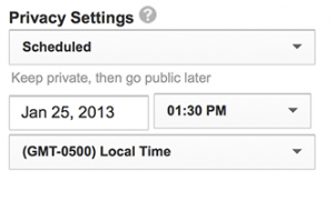 YouTubescheduling 300x181 The Future of Video Includes Frequent Video Publishing %page