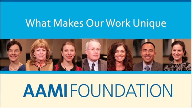 aami foundation Testimonials Compilation Video   AAMI Foundation %page