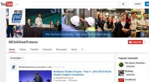 Sample YT Page MCAA 300x166 YouTube, Social Media & Other Video Distribution %page