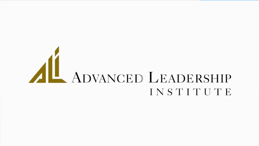 Advanced Leadership Institute logo Program Logo Animation   MCAA %page
