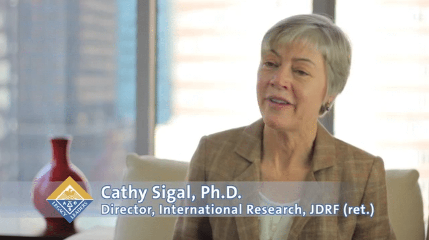 Cathy Sigal Fellowship Endowment Story   ACS   Cathy Sigal %page