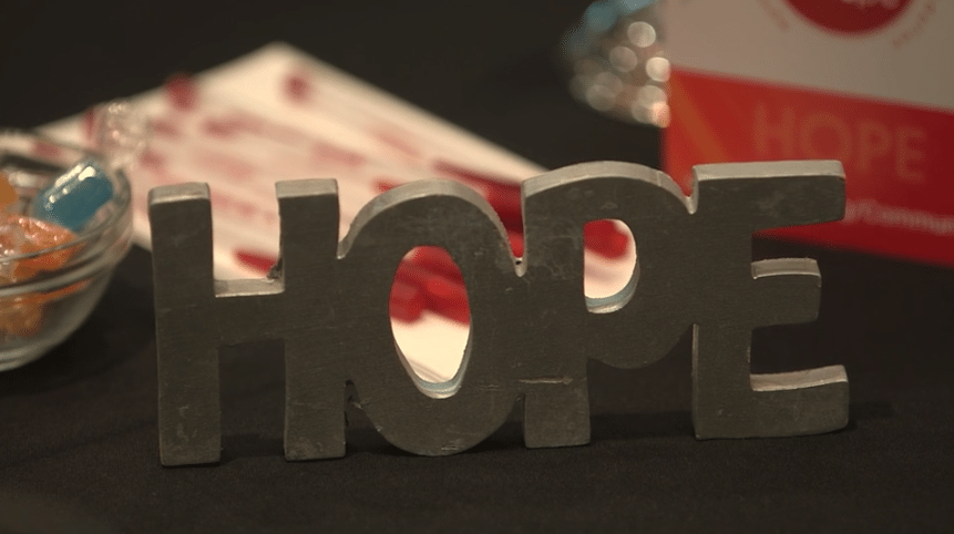 Hope sign Patient Conference Video   AAMDS %page