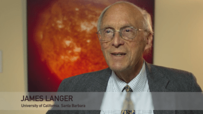 James Langer 400x225 Tribute Videos   Walter Kohn, Nobel Laureate %page