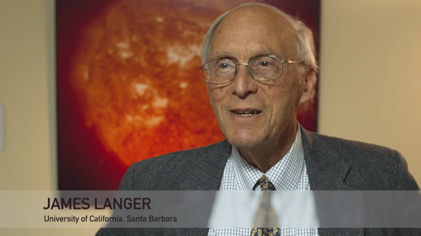 James Langer Tribute Videos   Walter Kohn, Nobel Laureate %page