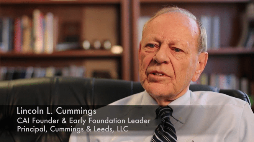 Lincoln Cummings Annual Conference Video   FCAR %page