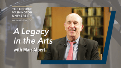 Marc Albert 400x224 Scholarship Legacy Gift Video   GW %page