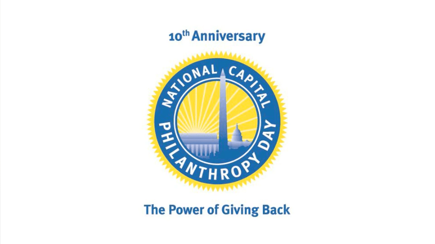 National Capital Philanthropy Day 10th anniversary logo Event Video   National Capital Philanthropy Day %page