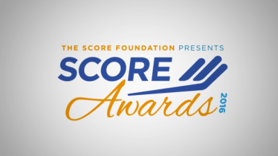 SCORE Awards 2016 logo 1 400x225 Logo Animations   Awards   SCORE %page