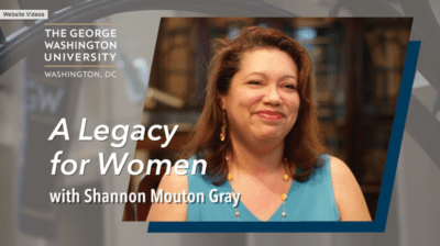 Shannon Mouton Gray 400x224 Young Legacy Donor Story   GW %page