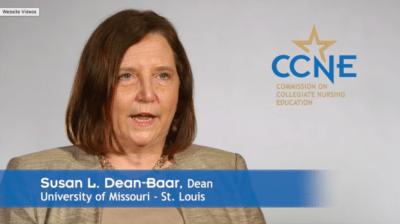 Susan Dean Baar 400x224 Accreditation Marketing Video CCNE %page