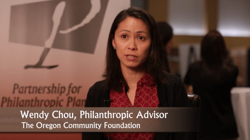 Wendu Chou Conference Testimonial Video   Partnership for Philanthropic Planning %page