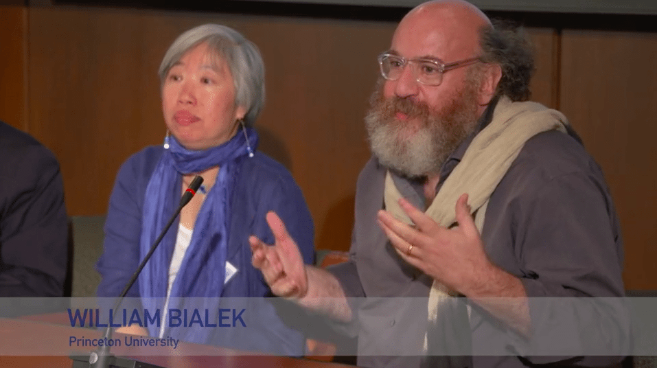 William Bialek Panel Discussion Filming   National Academy of Sciences Symposium %page