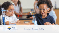 children doing chemistry 200x113 Program Fundraising Video   ACS %page