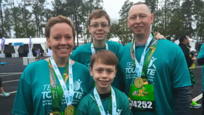 fundraising 5K family 400x225 PSA Video Tourette Association %page