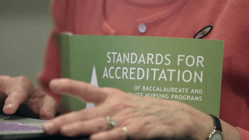 standards for accreditation Volunteer Video   CCNE %page