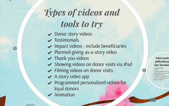 Types of Videos Storytelling Approaches %page