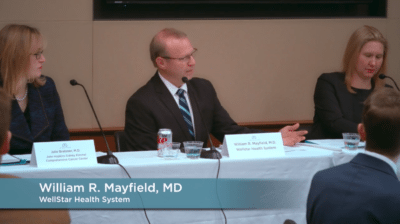 William Mayfield 400x224 Congressional Briefing Recap Video %page