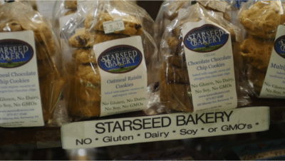 Allergen free bakery products 400x226 Outstanding Green Small Business Video   Starseed Bakery %page