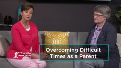 Parents of children with Tourette Syndrome share experiences overcoming tough times 400x225 Association Video %page