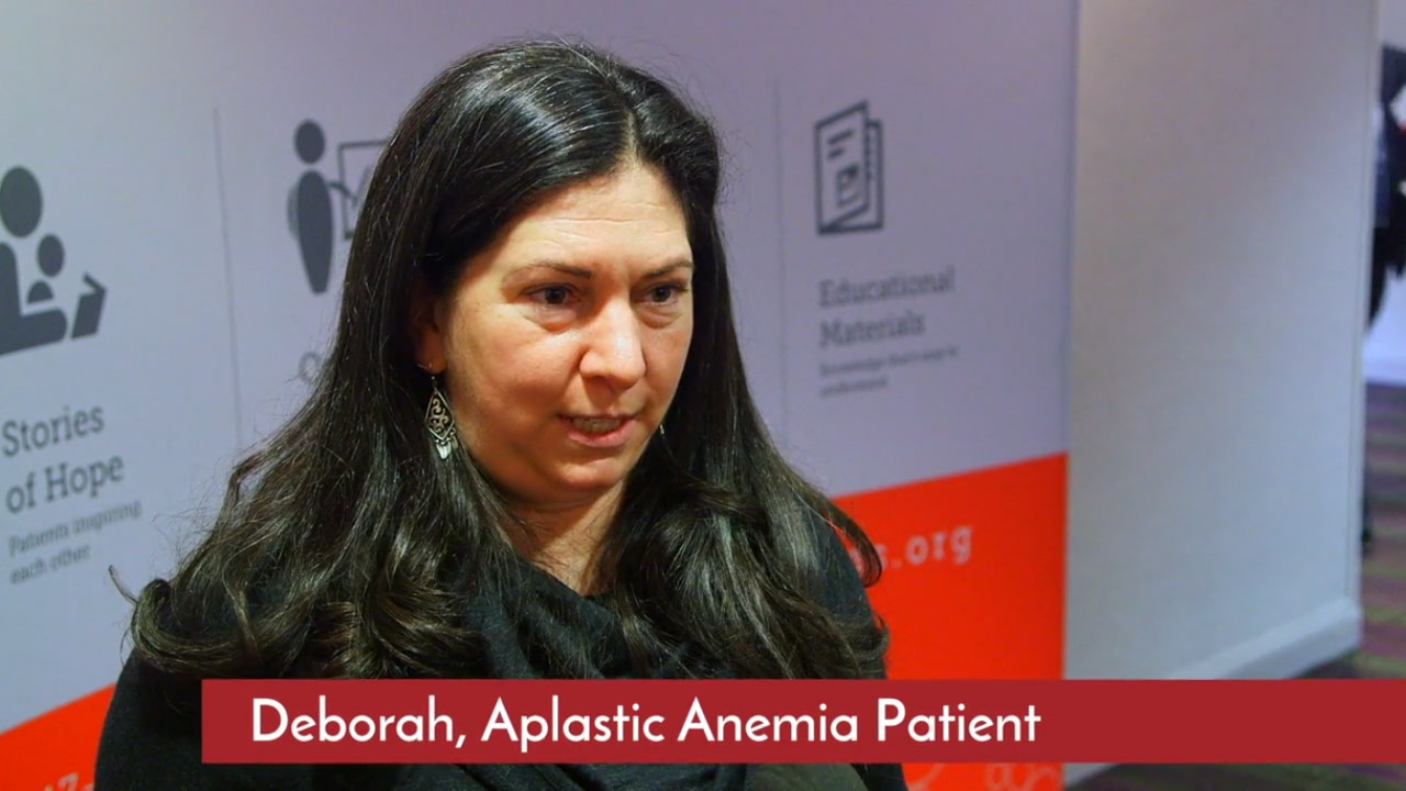Aplastic Anemia Patient tells how a patient conference helps her Patient Conference Promotional Video %page