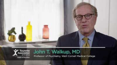 John T Walkup MD explaining Tourette terms 400x225 Medical Expert Video %page