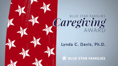 Appreciation award video title for Blue Star Families Caregiving Award 400x225 Appreciation Video %page