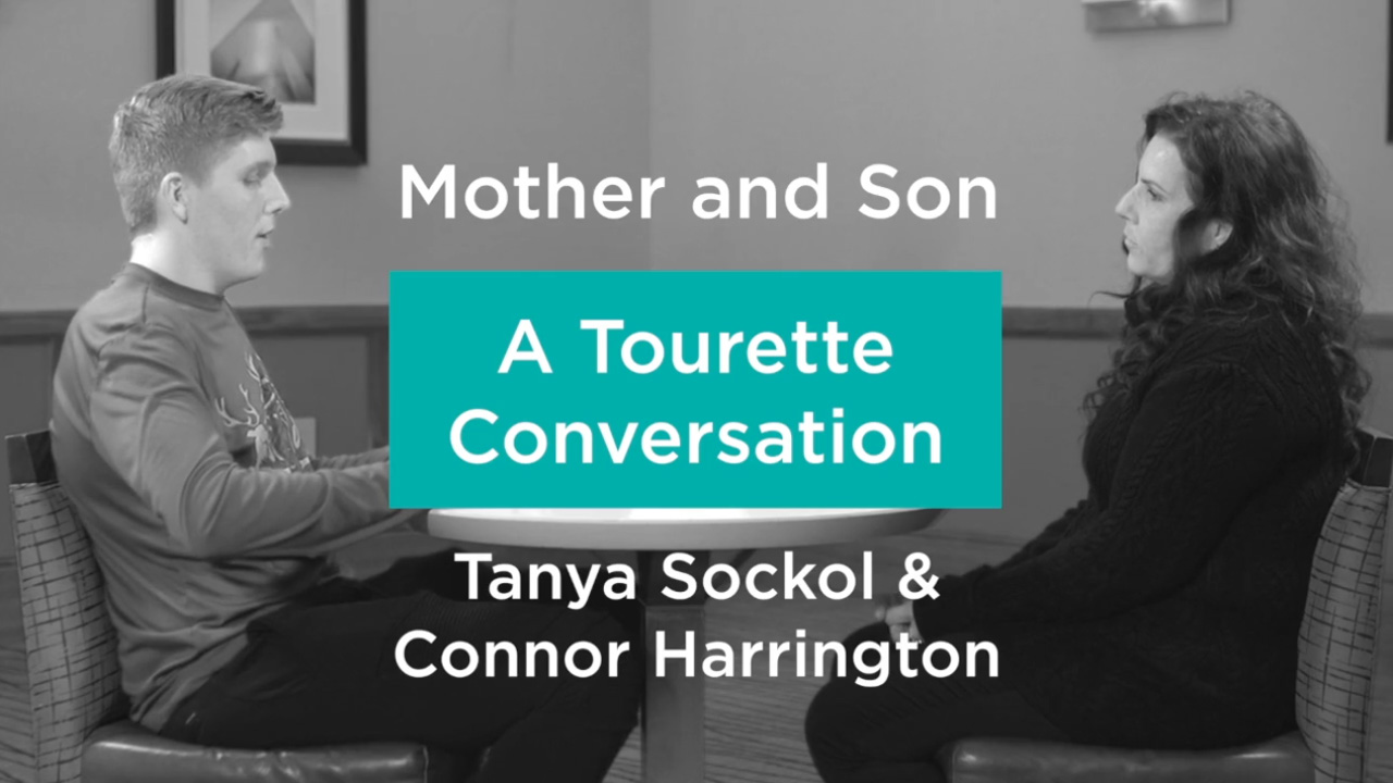 Tanya Sockol and Connor Harrington having a mother and son Tourette conversation Intimate Conversation Video %page