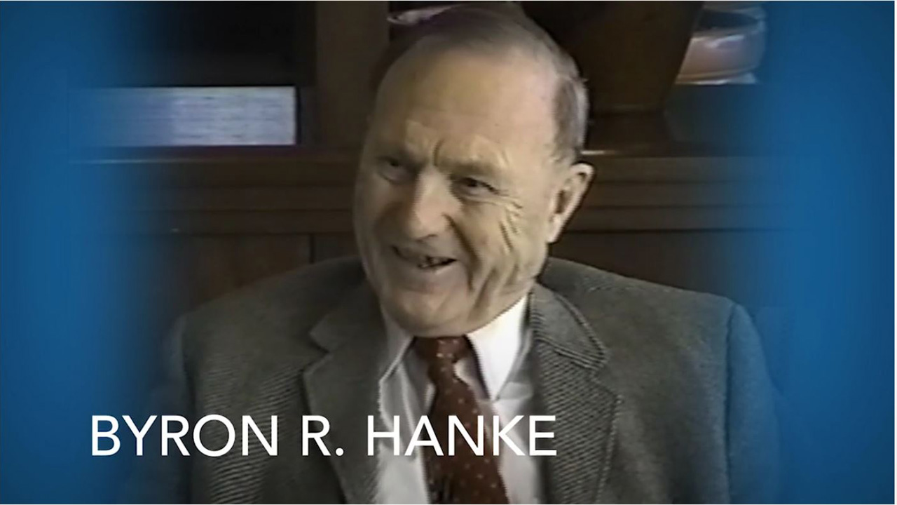 Byron R Hanke photo for FCAR bequest story video Bequest Story Video %page