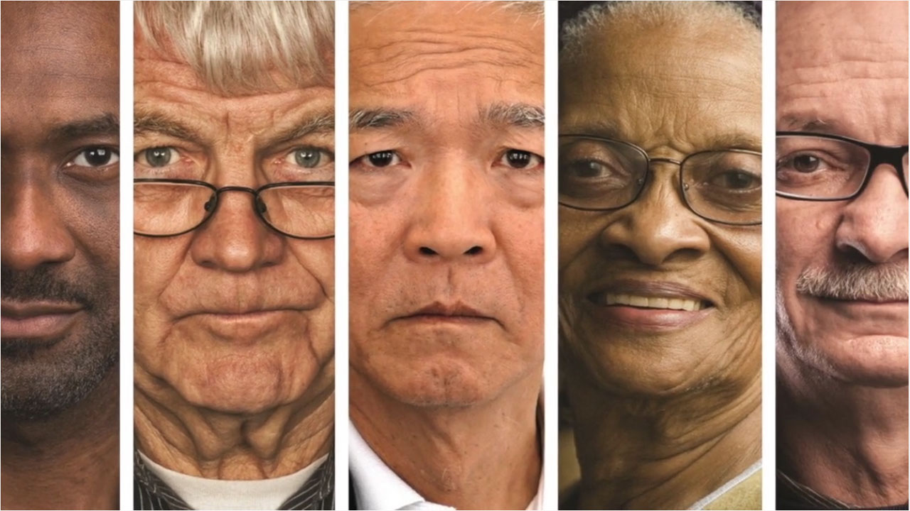 Faces of adults for BCAN Health PSA Health PSA %page