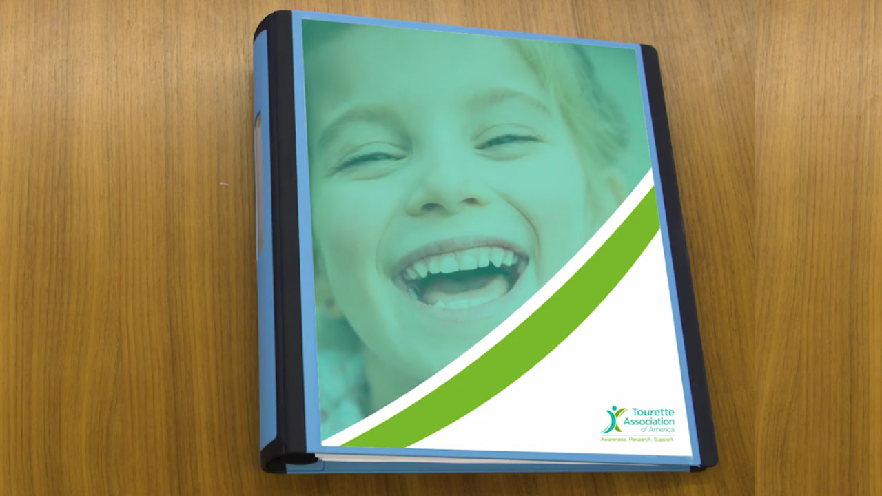 Cover of TAA Demonstration IEP Binder for How To Video Health and Medical Videos %page