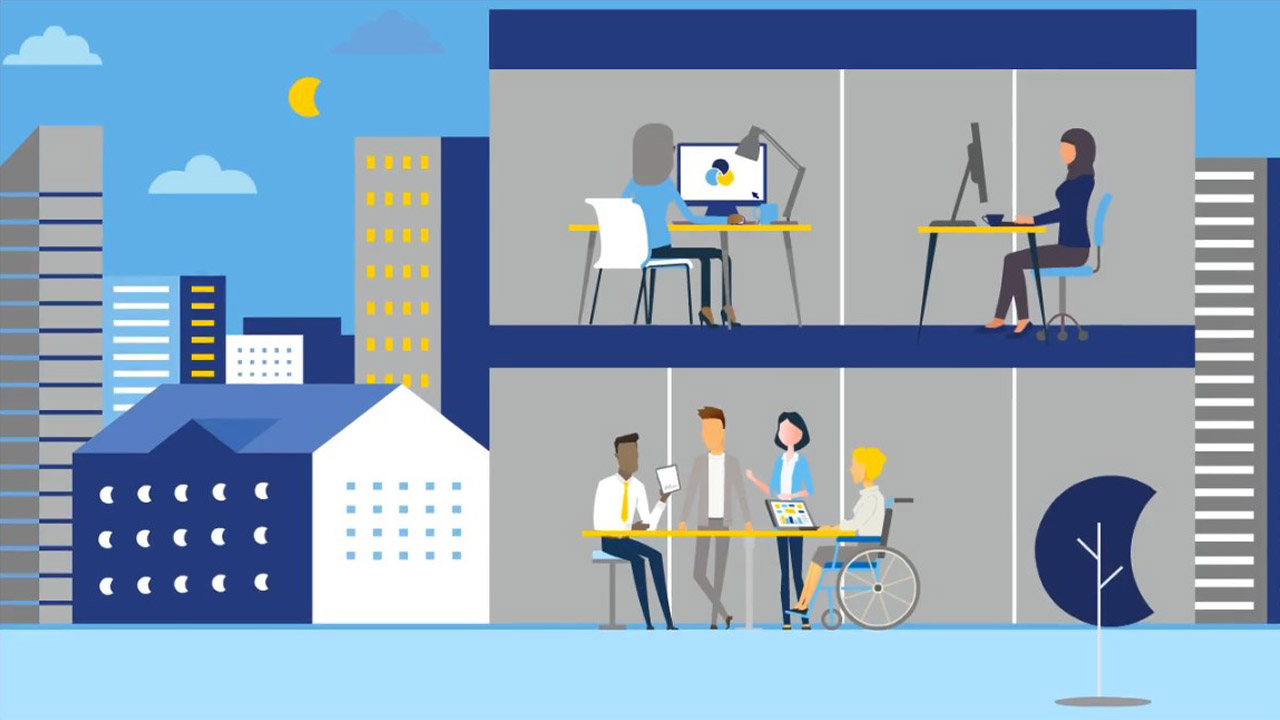 animated video to support diversity and inclusion in organization