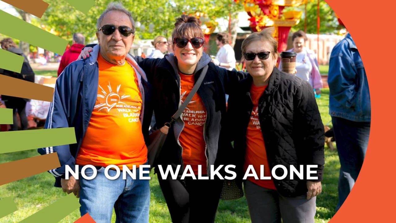 no one walks alone image charity walk participants from BCAN virtual fundraiser video Virtual Fundraising Videos Can Achieve Funding Results %page