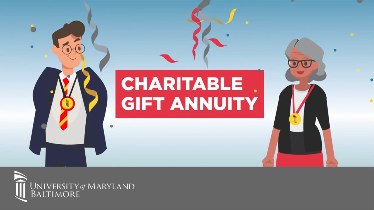short animated video explains charitable gift annuity Short Animated Video %page