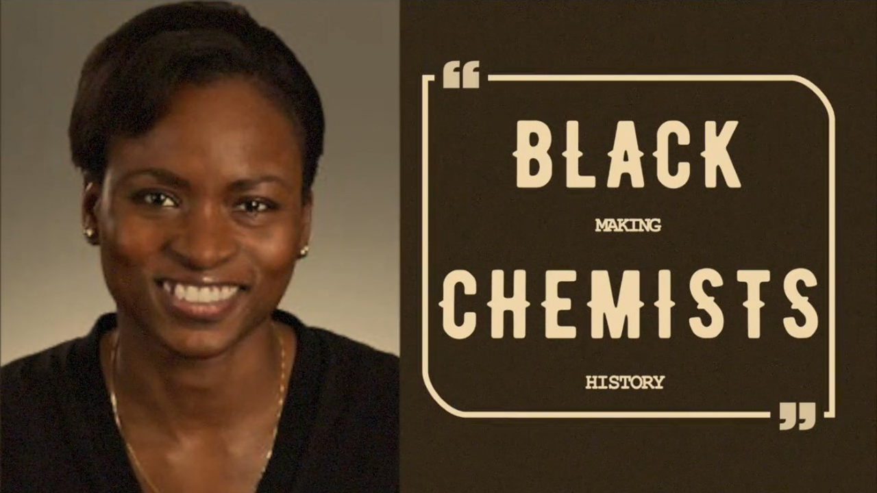 heritage month video showing black woman chemist for black history month