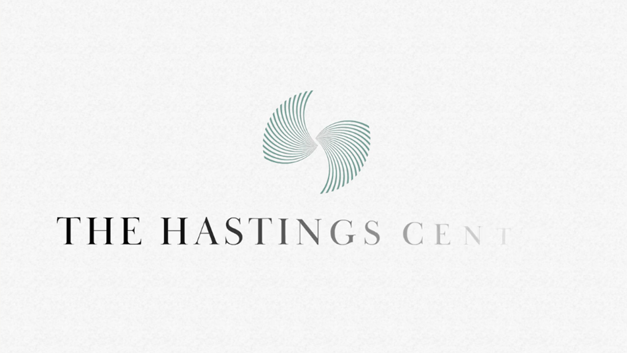 the hastings center animated logo rebranding on textured background Animated Logo Rebranding %page