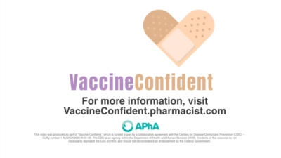 vaccine videos produced for american pharmacists association for cdc 400x225 COVID 19 Vaccine Videos inform, build trust, inspire action %page