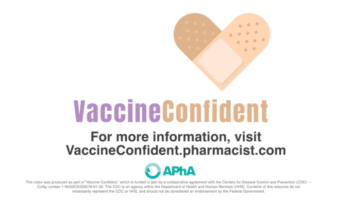 vaccine videos produced for american pharmacists association vaccine confident for cdc