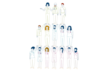 diabetes video animation showing pyramid of 15 diabetes care team members 460x295 Diabetes Video %page